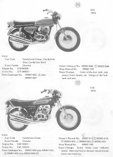 A also S L furthermore B also  in addition B. on 1972 kawasaki g4