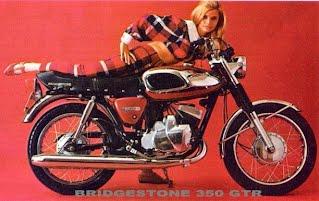 Bridgestone 350 gto