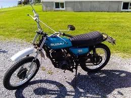 1977 Suzuki TC-185 - home
