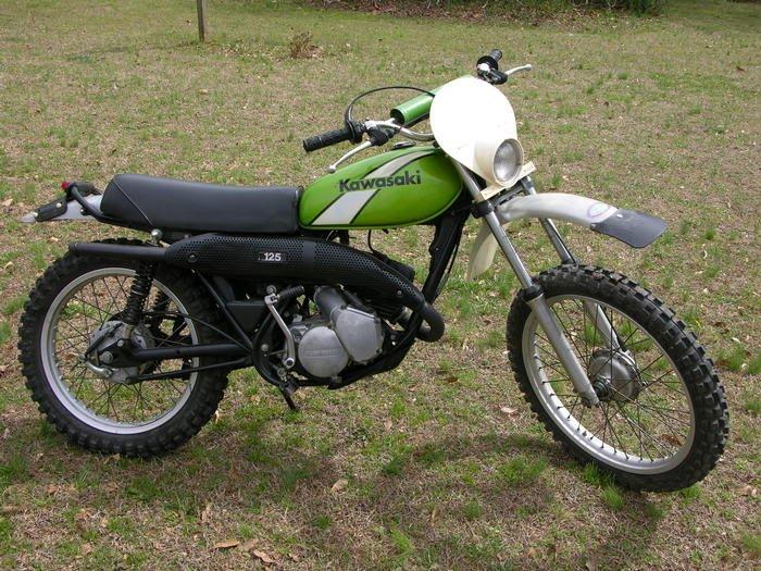 1978 Kawasaki KE-125 I.S.D.T. Replica - home