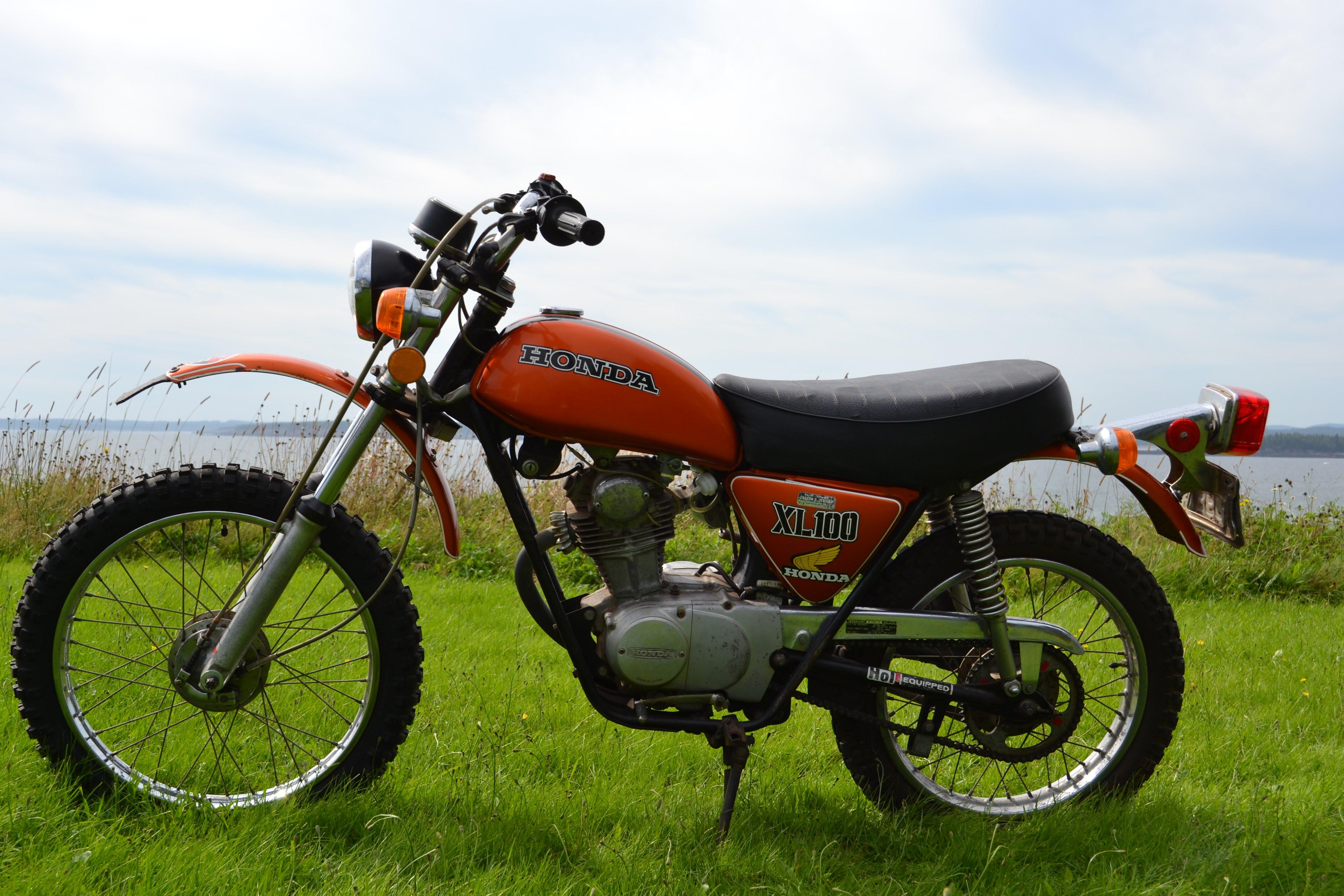 1974 Honda Xl100 Wiring Diagram Detailed Schematic Diagrams Kawasaki Bajaj Ct 100 Xl Home Custom Xl350