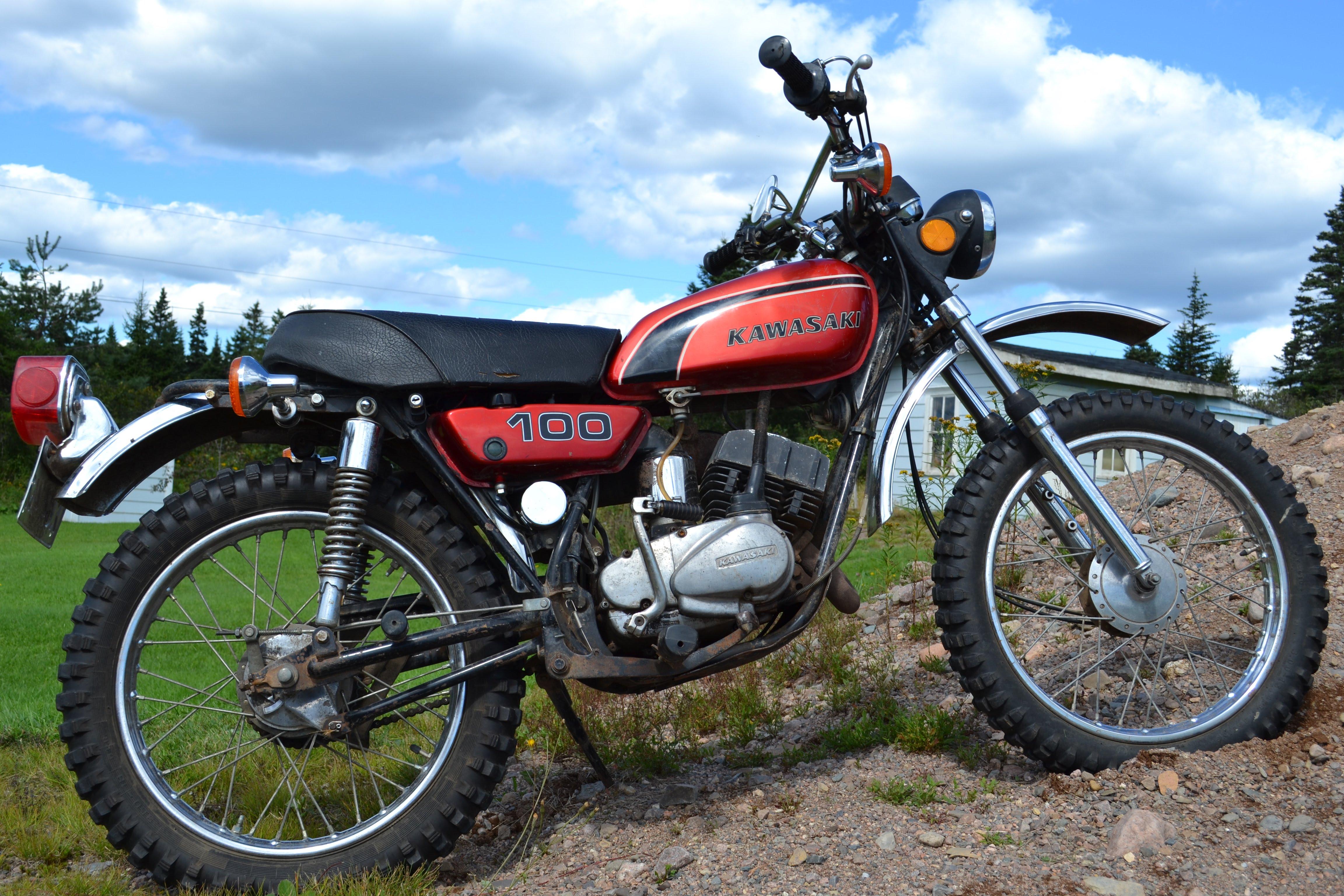 1975 Kawasaki G4tr Wiring Diagram F6 Diagrams Kt250 1974 G4 Tr 100 Home 1972 Enduro Rick Took A Shine To