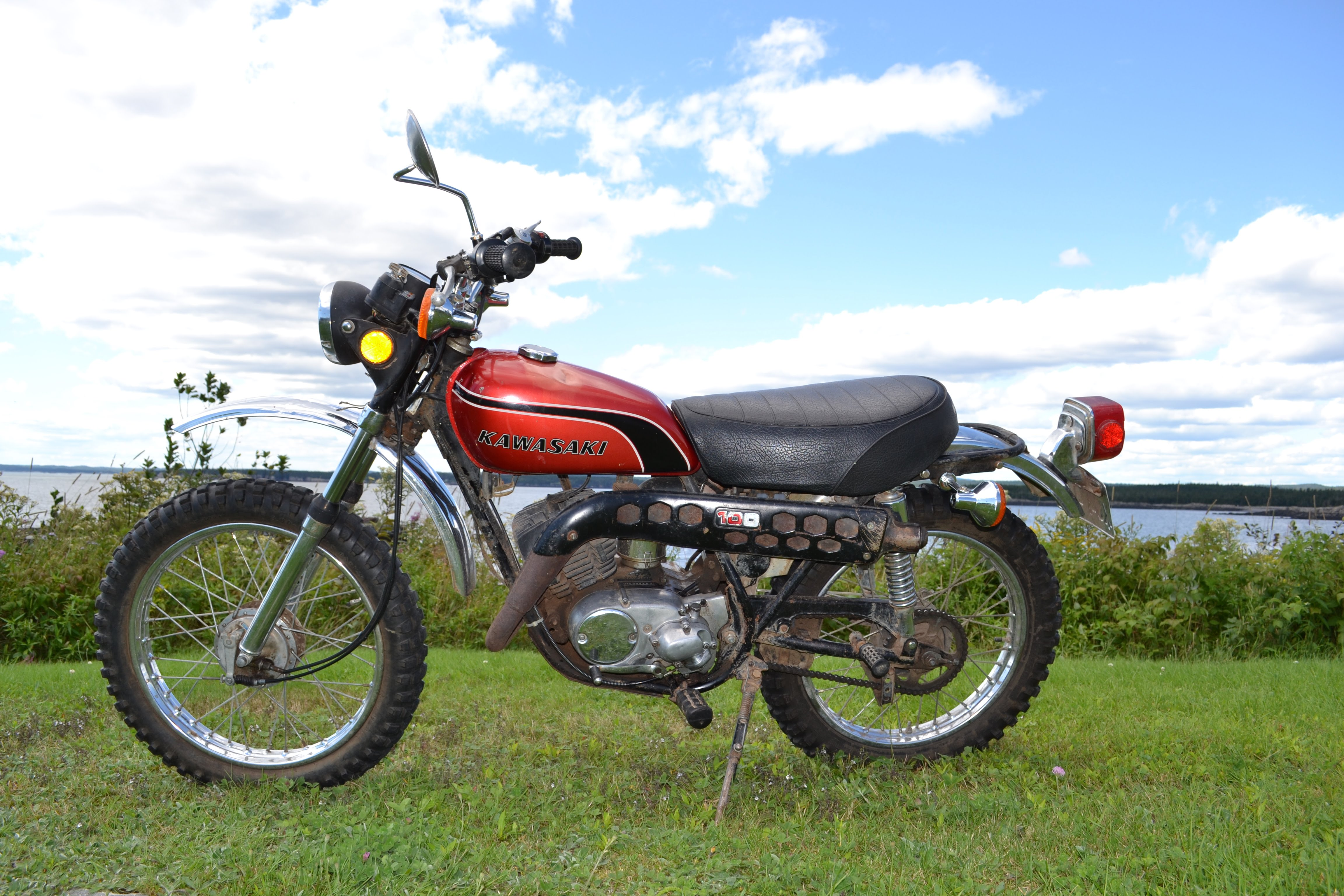 1975 Kawasaki G4tr Wiring Diagram Library Of Diagrams G5 1974 G4 Tr 100 Home Rh Classicjapcycles Com 1972 Enduro